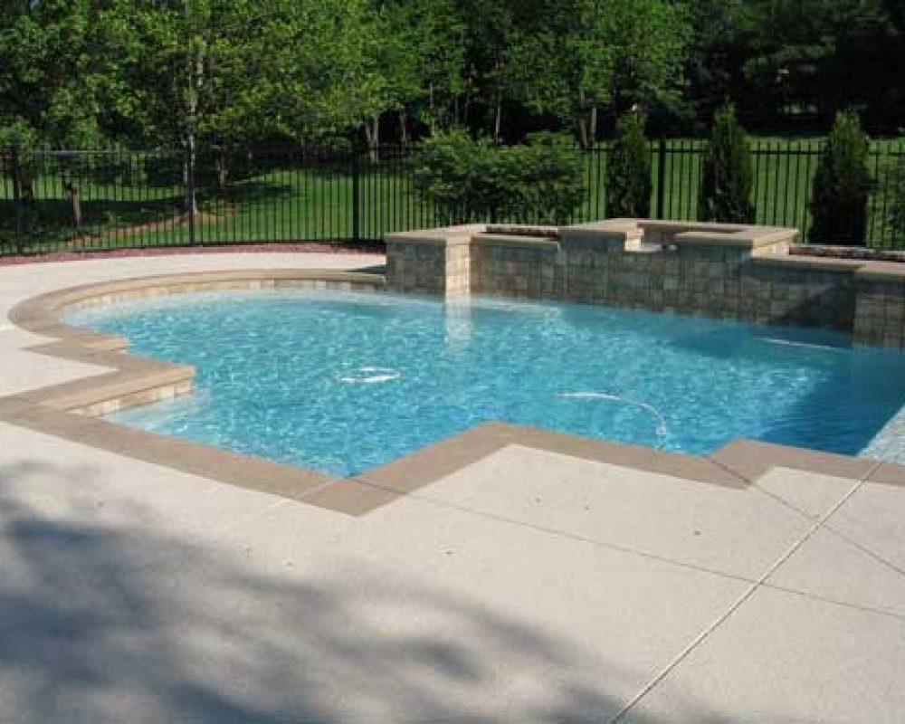 concrete pool deck installer